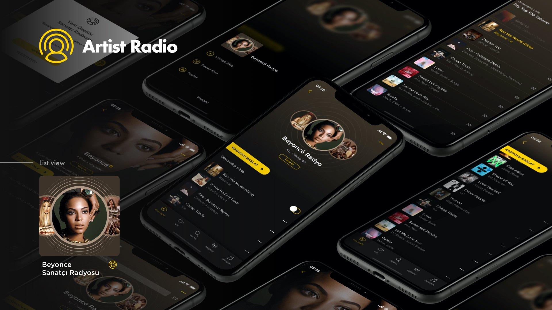 10 artist radio